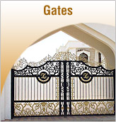 Automated Swing Gates,Rail on ramp,Decorative Gates